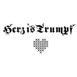 Herz is Trumpf