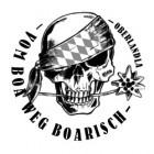 Vom Boa weg Boarisch
