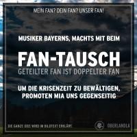 Musiker Bayerns, machts mit beim Fan-Tausch