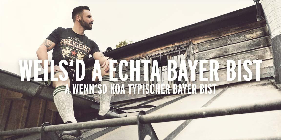 Oberlandla Trachtenersatzgwand Bavarian Streetwear
