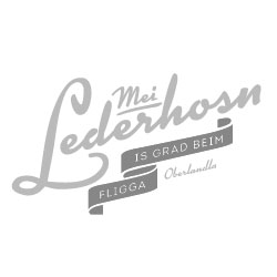 Mei Lederhosn is grad beim Fligga