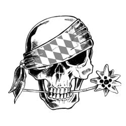 Da Schädl - Bavarian Skull