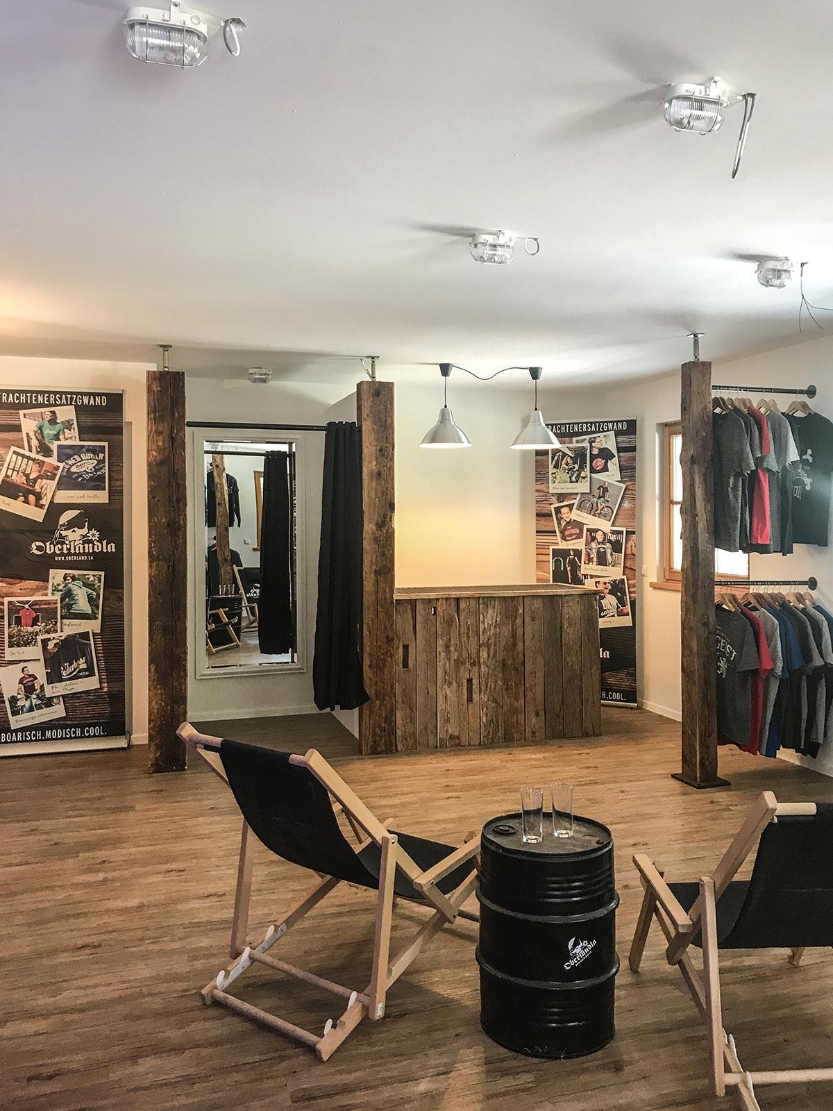 Ausstellung und Outlet
