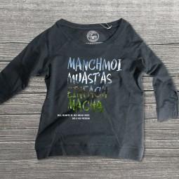Manchmoi muast as einfach macha