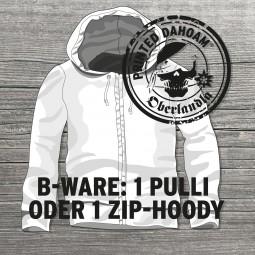 """Hoodie B-Ware """"Mann"""""""