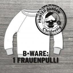 "Pullover B-Ware ""Frau"""