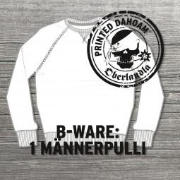 "Pullover B-Ware ""Mann"""