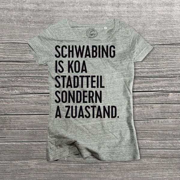 Schwabing is koa Stadtteil...