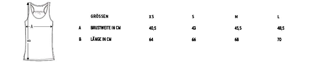 Größentabelle - Bitte Maße vergleichen um Retouren zu vermeiden.